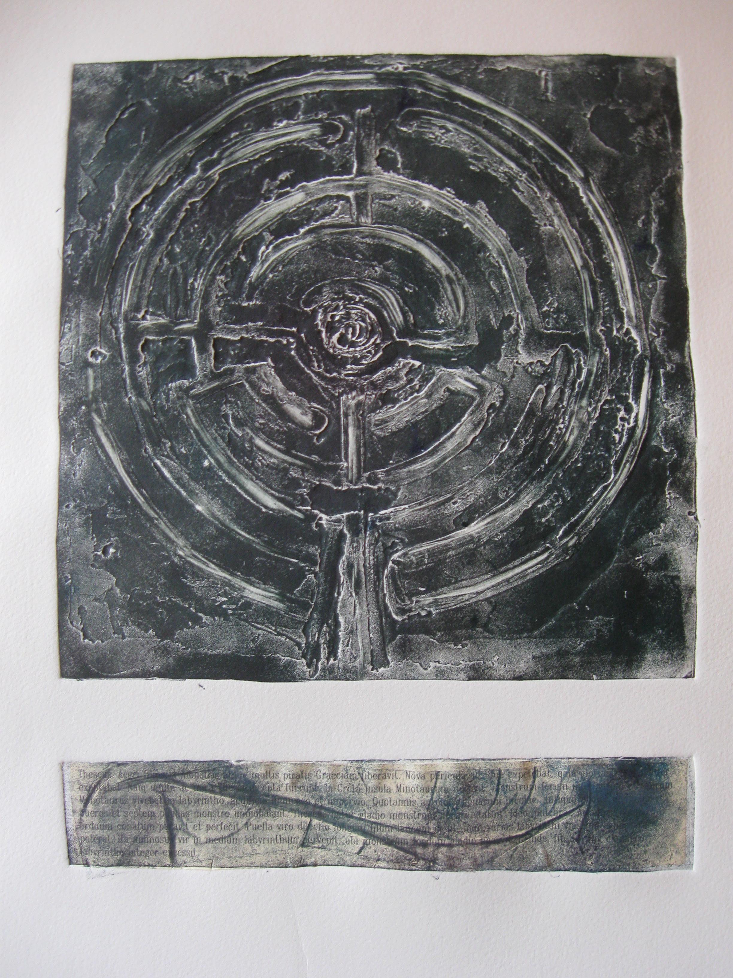 """""""dans le labyrinthe nous troverons la voie droite"""", 2011"""